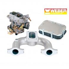 Carburettor Conversion Kit, Weber downdraft