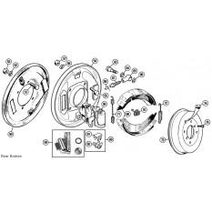 Rear Brakes - Minor (1951-71)