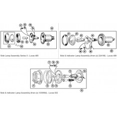 Front Lamps: Side Lamp & Indicator - Minor