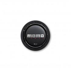 Button, horn, 2 contact, black, MOMO
