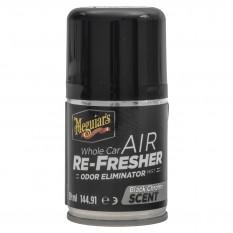 Odour Eliminator, air refresher, black chrome scent