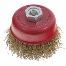 Cup Brush Crimped, 75mm, M14