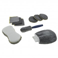 Microfibre Cleaning Kit, 9 piece