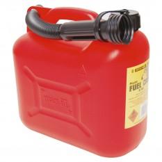 Fuel Can, plastic 5 litre, with spout