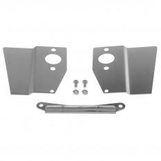Heat Shield Set, HS2 carburettors, stainless steel, pair