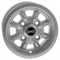 "Wheel, Ultralite, rally, silver, 10"" x 4.5"""