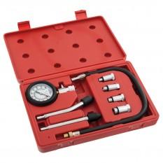 Compression Test Kit, petrol engine, 8 piece