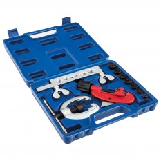 Pipe Flaring & Cutting Kit, 10 piece