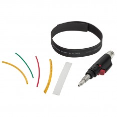 Gas Torch Kit, with shrink tubing, 162 piece