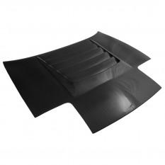 Bonnet, vented, DMAX style, fibreglass & carbon fibre, CarbonMiata