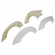 Overfenders, Type 2 style, fibreglass, CarbonMiata