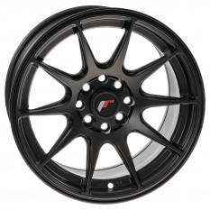 """Wheel, JR12, 15"""" x 7.5"""", ET26, gunmetal/polished lip"""