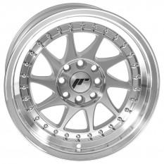 "Wheel, JR26, 15"" x 8"", ET25, silver/polished lip"