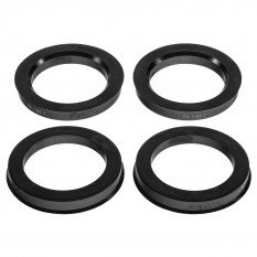 Wheel Hubcentric Rings, JR, set of 4, plastic