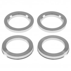 Wheel Hubcentric Rings, JR, set of 4, aluminium