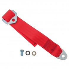 Seat Belt Extender, red, each