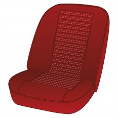 Seat Cover Kits - TR6 (CP25000 to CP26998) UK & R.O.W.