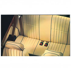 Rear Seat Cover Kits, Vertical Flute - Rover Mini
