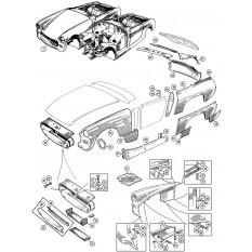 Body Panels - Sprite IV & Midget III, 1500cc
