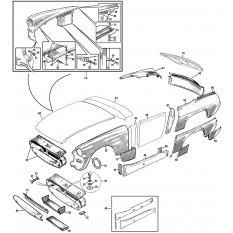 Front & Rear Outer Body Panels - Sprite II, III & Midget I, II