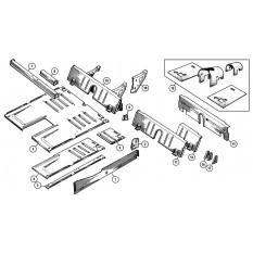 Floor & Rear Inner Panels - Sprite IV & Midget III, 1500cc