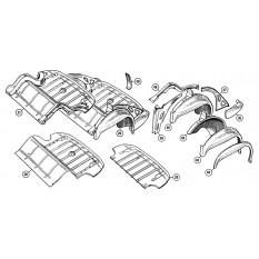 Rear Underframe & Boot Floor - Sprite I, II, III & Midget I, II