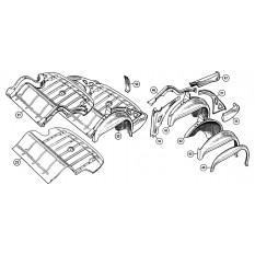 Rear Underframe & Boot Floor - Sprite IV & Midget III, 1500cc