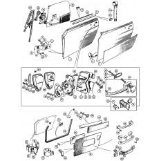 Doors & Fittings: 1275-1500cc