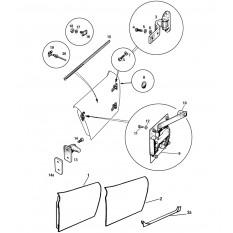 Doors & Fittings: Sprite I, II & Midget I