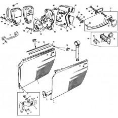 Doors & Fittings: Sprite III & Midget II