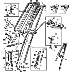 Quarter Light & Fittings: Sprite III & Midget II