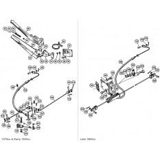 Hand Brake - Sprite & Midget 1275-1500cc