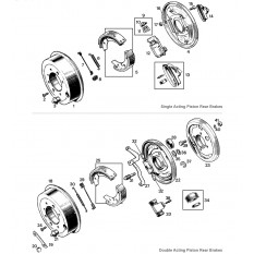 Rear Brakes - Sprite & Midget 948-1098cc