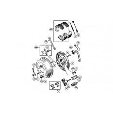 Rear Brakes - Sprite & Midget 1275-1500cc