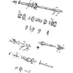 Internal Gearbox - Sprite & Midget 948-1098cc