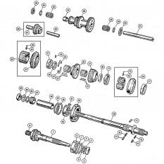 Internal Gearbox - Sprite & Midget 1275cc
