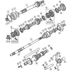 Internal Gearbox - Midget 1500cc