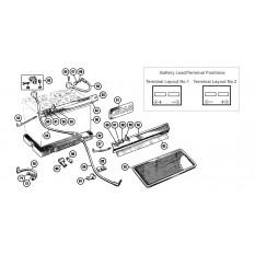Battery & Fittings - Sprite & Midget 1275-1500cc