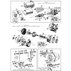 Exhaust System besides Badges Decals Stickers moreover Gearboxes  ponents in addition Rear Suspension likewise Charging System. on mgb engine rebuild kits