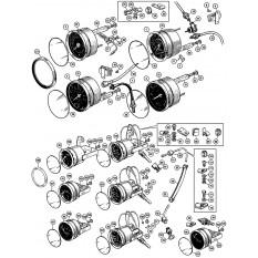 Instruments & Cables - Sprite IV & Midget III-1500 (1967-79)