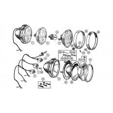 Headlamps - Sprite IV & Midget III-1500 (1966-79)