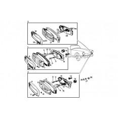 Front Side & Indicator Lamps: Sprite II, III & Midget I, II