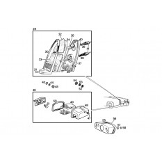 Rear Lamps - Sprite II-III & Midget I-II (1961-67)