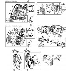 Rear lamps: Sprite IV & Midget III, 1500cc