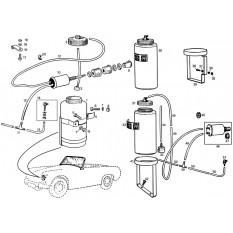 Screen Washer System - Sprite & Midget 948-1098cc