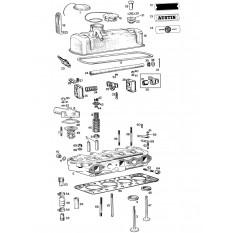 Cylinder Head - Sprite & Midget 948-1098cc