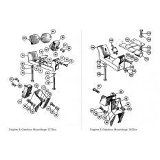 Engine & Gearbox Mountings - Sprite & Midget 1275cc