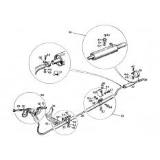 Exhaust System - Sprite & Midget 948cc