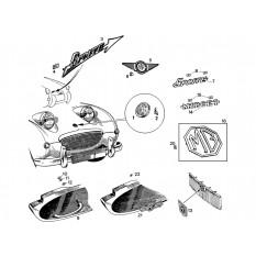 Badges - Sprite I-III & Midget I-II (1958-67)
