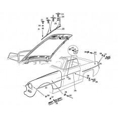 Mouldings & Fittings - Sprite I-III & Midget I-II (1958-67)